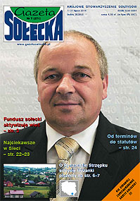 Gazeta Sołecka - miesięcznik - prenumerata kwartalna już od 4,99 zł